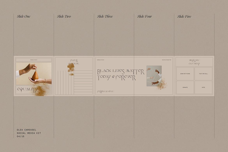 时尚高端专业优雅多用途的社交媒体banner海报设计模板集合插图(4)