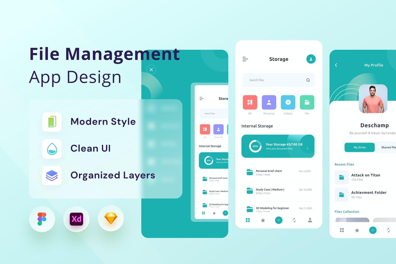 文件管理App (FIG,SKETCH,XD)插图