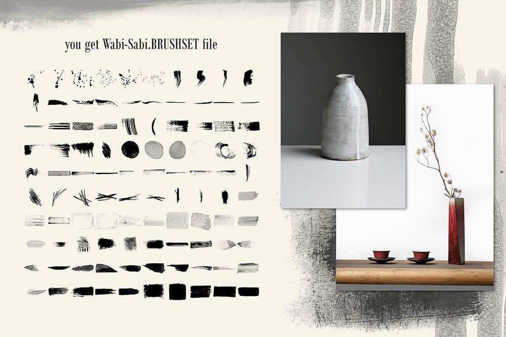 水彩专业艺术Procreate笔刷套装 (brushset)插图24