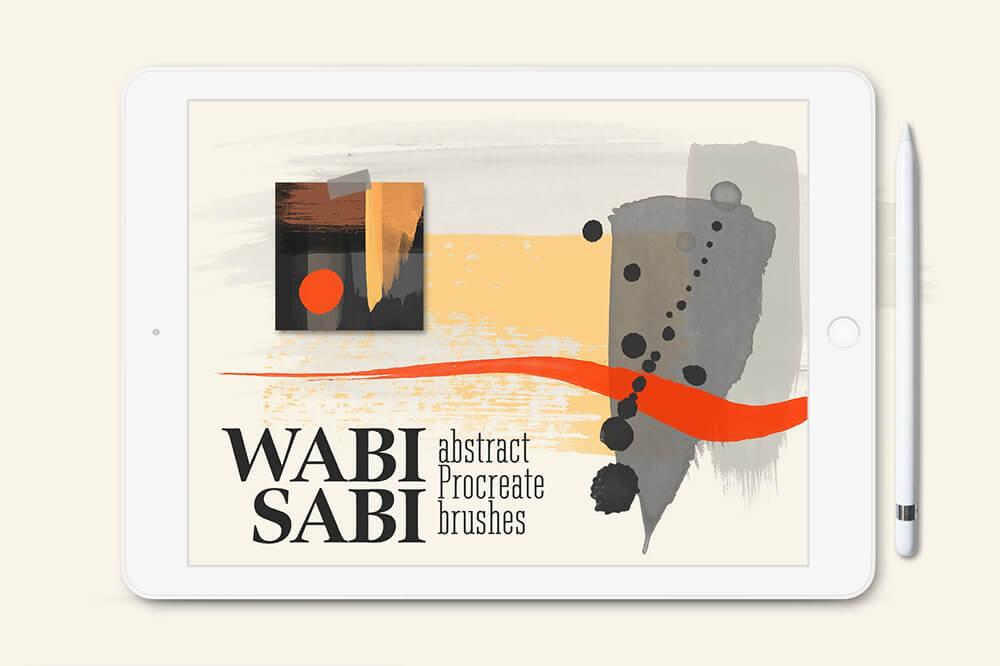 水彩专业艺术Procreate笔刷套装 (brushset)插图26