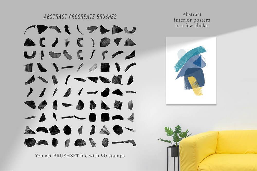 水彩专业艺术Procreate笔刷套装 (brushset)插图28