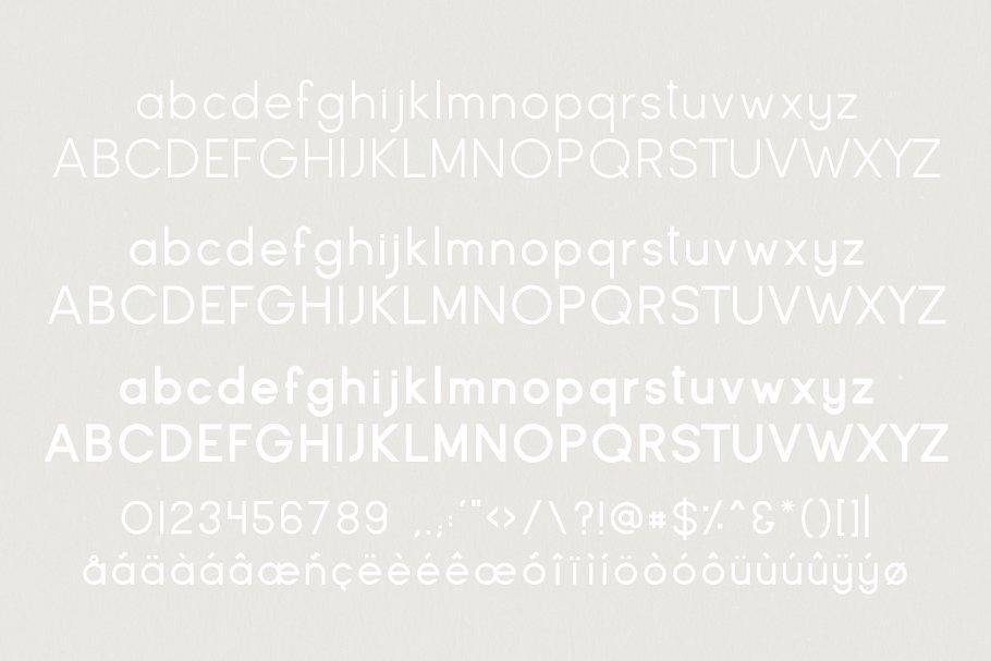 时尚的字体 Glasgow   Iconic Sans Serif插图1