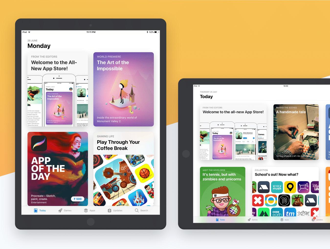 设计师必备的完美的UI设计作品展示模板套装[PSD,for iPhone X,iPhone 8,iPad等]插图12
