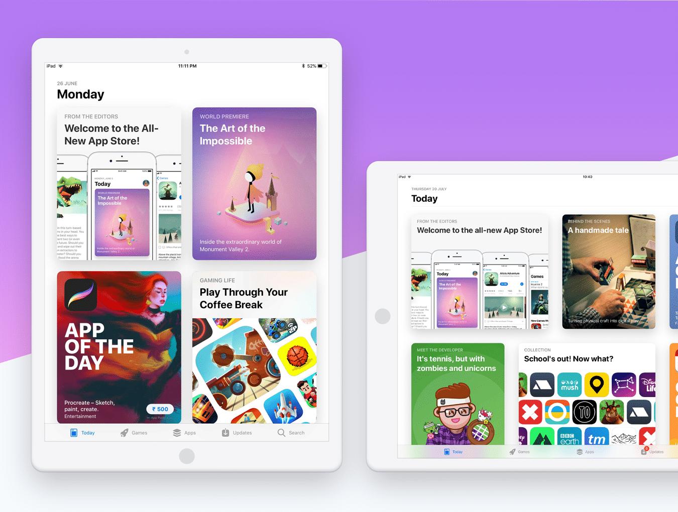 设计师必备的完美的UI设计作品展示模板套装[PSD,for iPhone X,iPhone 8,iPad等]插图11
